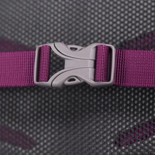Osprey Daylite II Eggplant purple Cestujete radi naľahko len s pár vecami na chrbte? - vystužený chrbtový panel s perforovaním pre lepšie odvetrávanie a cirkuláciu vzduchu- látková vrecko s pružným lemom na uloženie tabletu- hrudný popruh s pohotovostnou píšťalkou- zatváranie hlavnej komory na zips- vnútorné vrecko na doklady- kompatibilný s vakmi na voduOsprey Hydraulics a Hydraulics LT- karabína na kľúče- odnímateľný bedrový popruh- bočné kompresné popruhy- bočné strečové vrecká- unisex prevedenie- možnosť pripnutia na vybrané turistické batohy Osprey