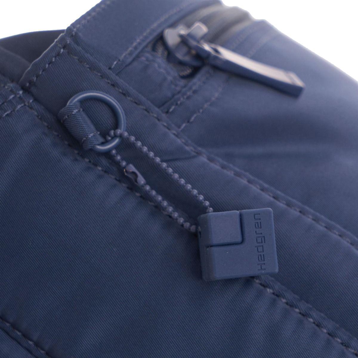 Hedgren Shoulder bag Eye M RFID Dress blue Tone on Tone Taška Hedgren Eye M patrí do ikonickej kolekcie Inner city, ktorá nadčasovým designom, odolným materiálom a praktickosťou dobýva európsky trh.  - hlavné vrecko s organizérom na zips - čalúnené vrecko na tablet - vrecko na smartphone - vnútorná kapsička na zips - integrovaná RFID ochrana - vodoodolný materiál - kovové logo na prednej časti - dve predné vrecká na zips - jedno zadné vrecko na zips - nastaviteľný ramenný popruh