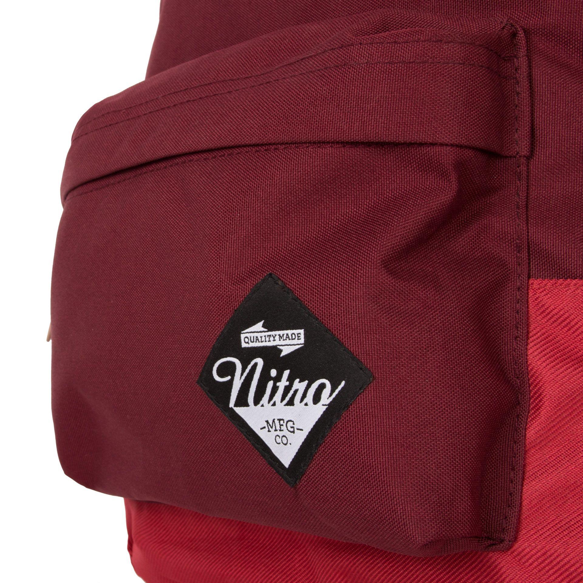 Nitro NYC Chilli Batoh z rady Nitro NYC iste nadchne každého, kto hľadá nielen batoh, ale aj módny doplnok.