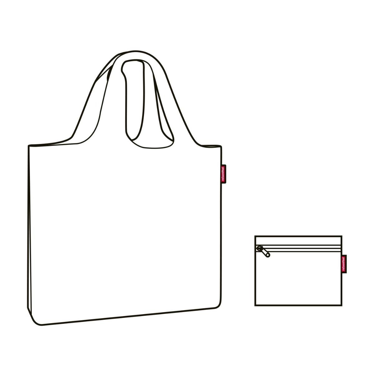 Reisenthel Mini Maxi Beachbag Coral Plážová taška Reisenthel je ideálna letná spoločníčka.  veľkorysý objem široké otváranie na zips možnosť zložiť do malej kapsičky odolný, vodu odpudzujúci materiál