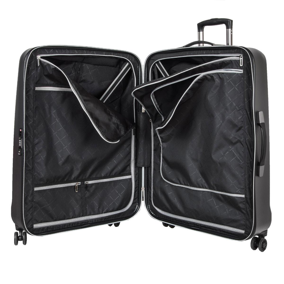Titan Xenon Deluxe L Graphite S inovatívnym kufrom Titan Xenon Deluxe sa budete aj pri náročných cestách cítiť ako v bavlnke.