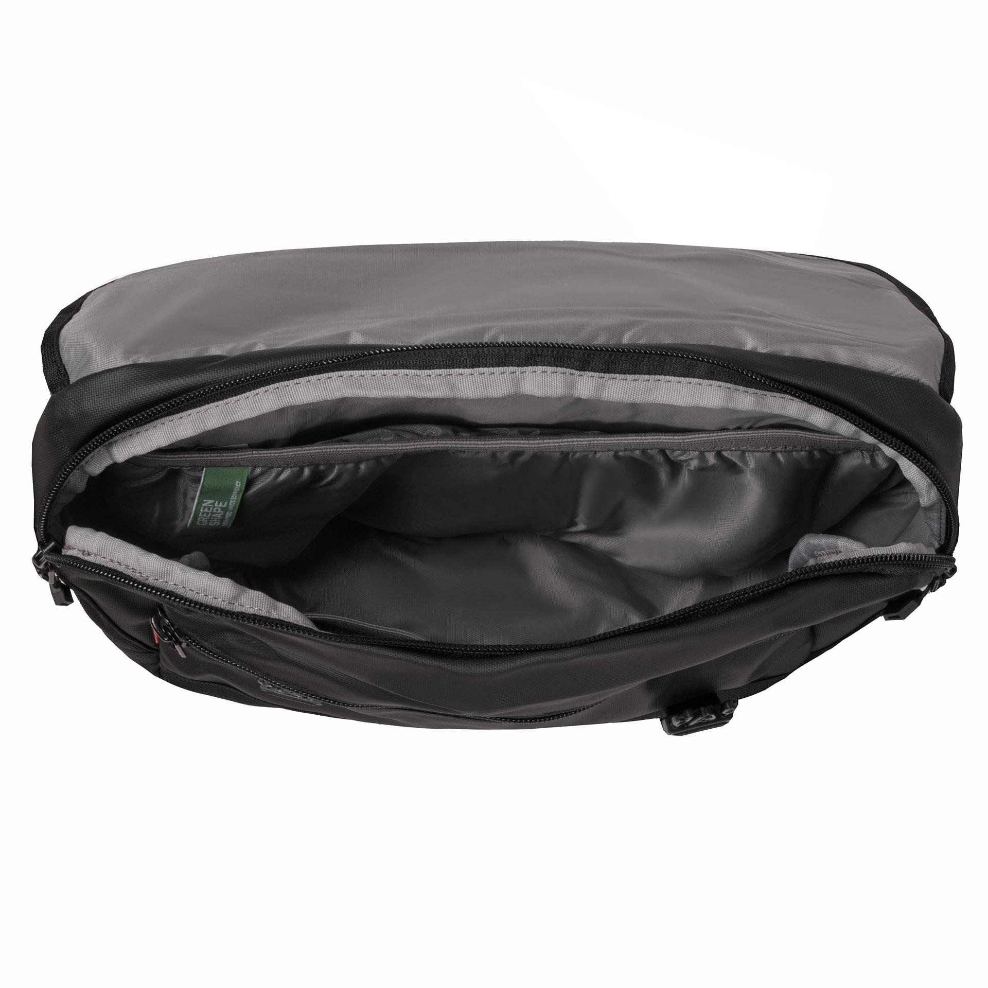 Vaude Ayo S black Do tašky Ayo S bez problémov uložíte váš tablet aj množstvo ďalších nevyhnutných vecí.- čalúnený oddiel na tablet- veľký hlavný oddiel- predné vrecko na zips s organizérom- držiak na kľúče a pero- čalúnená zadná časť