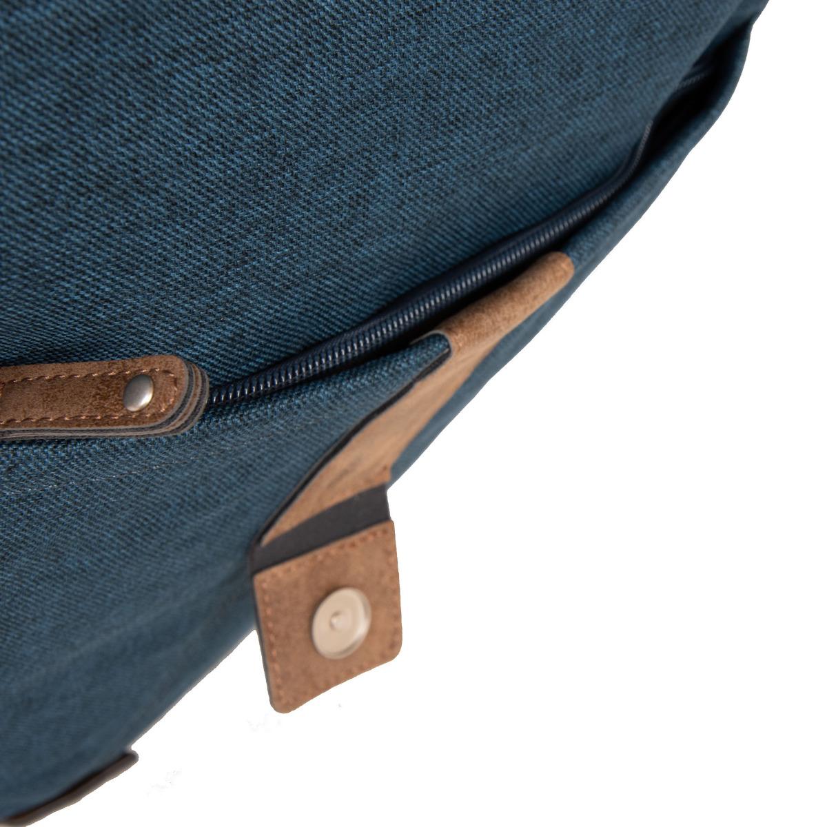 Zwei Olli O14 Blue Či už ste milovníkmi vintage kúskov alebo si len neradi kazíte chrbát pri nosení ťažkých kabeliek, Zwei Olli O14 vás skrátka oslní!  - čalúnený chrbát - čalúnená priehradka vnútri batohu - vrecko na telefón - hlavná komora uzatvárateľná zipsom - klopa so zapínaním na magnet   Údržba: Čistiť vlhkou handričkou.